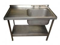Single Bowl Single Drainer Sink (MR3498)